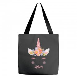 birthday unicorn family series sister Tote Bags | Artistshot