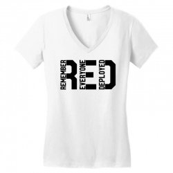 remember everyone deployed Women's V-Neck T-Shirt | Artistshot