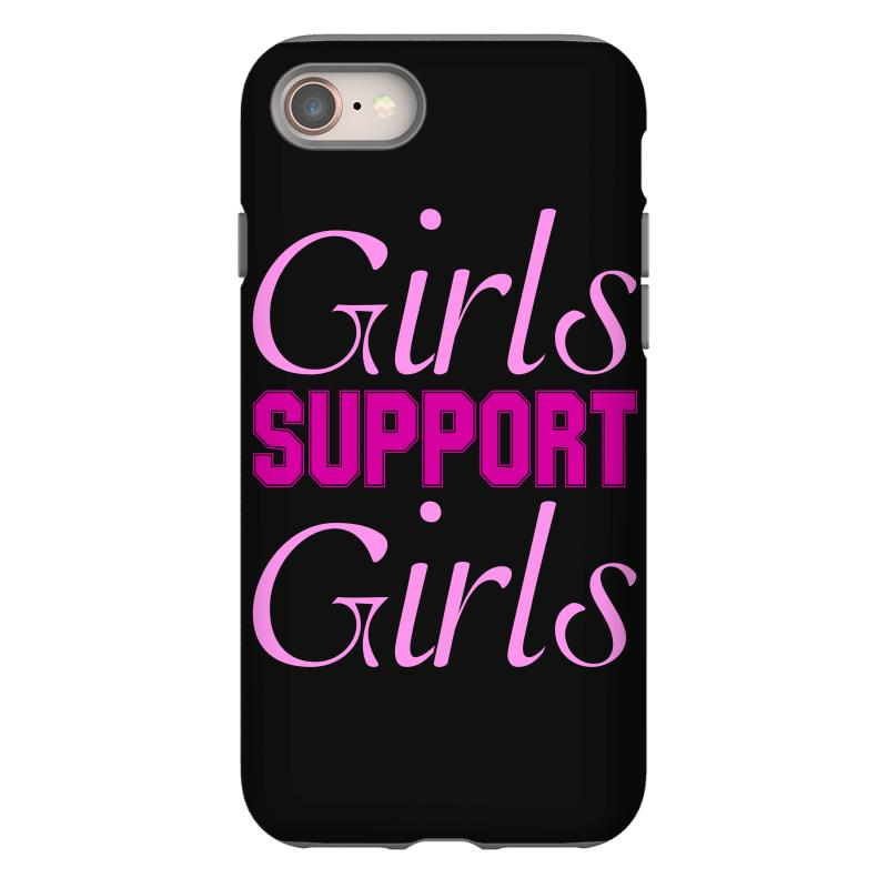buy popular 880c3 9b62c Girls Support Girls Iphone 8 Case. By Artistshot