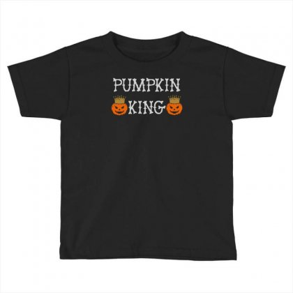 Halloween Pumpking Toddler T-shirt Designed By Aheupote