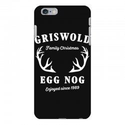 griswold family christmas egg nog with horn iPhone 6 Plus/6s Plus Case | Artistshot