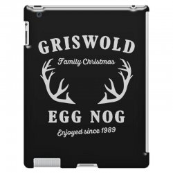 griswold family christmas egg nog with horn iPad 3 and 4 Case | Artistshot