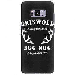 griswold family christmas egg nog with horn Samsung Galaxy S8 Plus Case | Artistshot