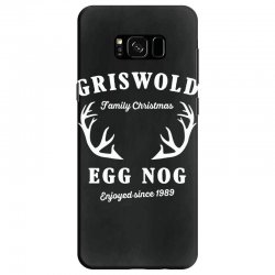 griswold family christmas egg nog with horn Samsung Galaxy S8 Case | Artistshot