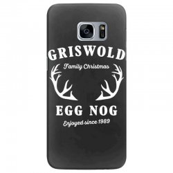 griswold family christmas egg nog with horn Samsung Galaxy S7 Edge Case | Artistshot