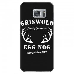 griswold family christmas egg nog with horn Samsung Galaxy S7 Case | Artistshot