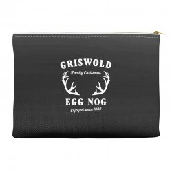griswold family christmas egg nog with horn Accessory Pouches | Artistshot