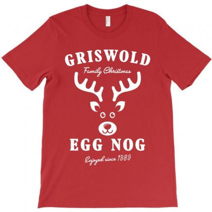 Griswold Family Christmas Egg Nog With Rudolph T-shirt Designed By Akin