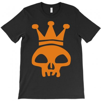 King Skull Emo Club Pirate Dance Music Reggae T-shirt Designed By Ancart