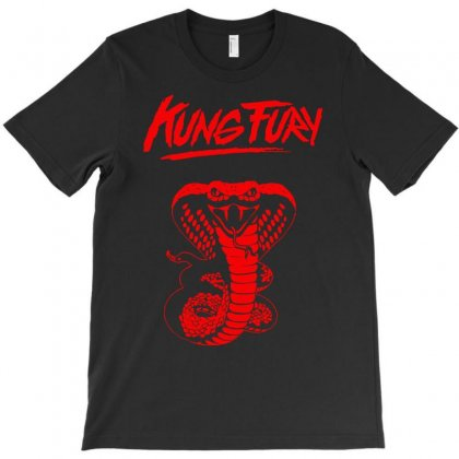 Kung Fury T-shirt Designed By Ancart
