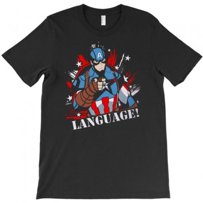 Language! T-shirt Designed By Ancart