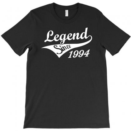 Legend Since 1994   Mens Funny 21st Sticker Transfer Iron On T-shirt Designed By Ancart