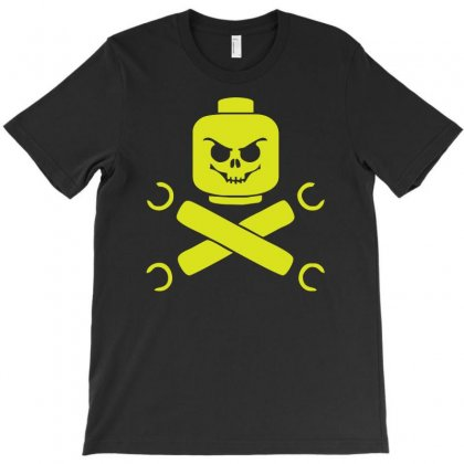 Lego Kull And Crossbones T-shirt Designed By Ancart