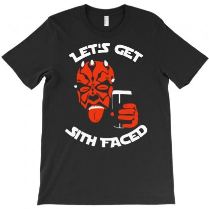 Let's Get Sith Faced (2) T-shirt Designed By Ancart