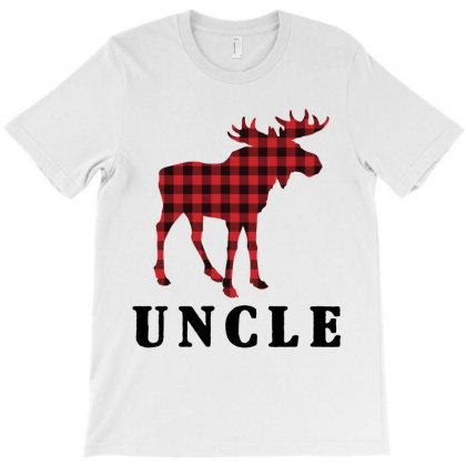 Reindeer Christmas Family Uncle T-shirt Designed By Akin