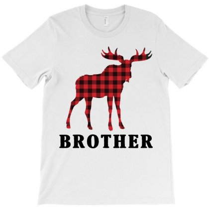 Reindeer Christmas Family Brother T-shirt Designed By Akin