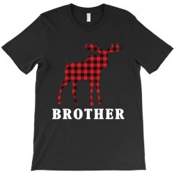reindeer christmas family brother T-Shirt | Artistshot