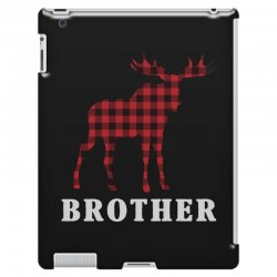 reindeer christmas family brother iPad 3 and 4 Case | Artistshot
