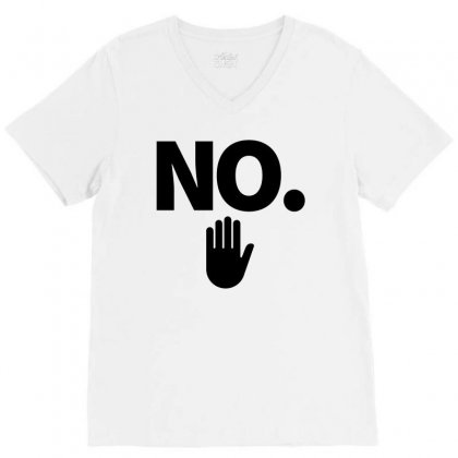 No V-neck Tee Designed By Nurbetulk