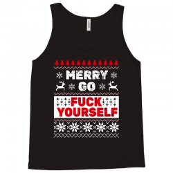 elf merry go fuck your elf ugly christmas sweater Tank Top | Artistshot