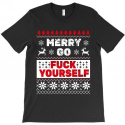 elf merry go fuck your elf ugly christmas sweater T-Shirt | Artistshot