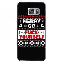 elf merry go fuck your elf ugly christmas sweater Samsung Galaxy S7 Case | Artistshot