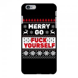 elf merry go fuck your elf ugly christmas sweater iPhone 6 Plus/6s Plus Case | Artistshot