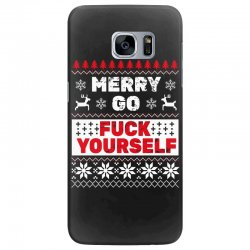 elf merry go fuck your elf ugly christmas sweater Samsung Galaxy S7 Edge | Artistshot
