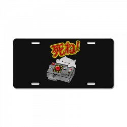 doomsday cat License Plate | Artistshot