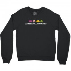 classically trained   80s video games Crewneck Sweatshirt | Artistshot