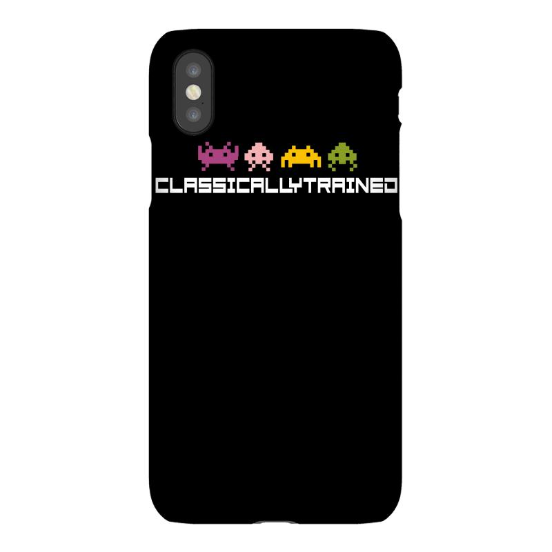 Classically Trained   80s Video Games Iphonex Case | Artistshot