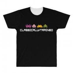 classically trained   80s video games All Over Men's T-shirt | Artistshot