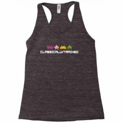 classically trained   80s video games Racerback Tank | Artistshot