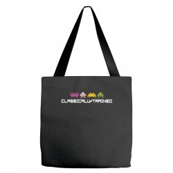 classically trained   80s video games Tote Bags | Artistshot