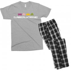 classically trained   80s video games Men's T-shirt Pajama Set | Artistshot
