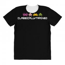 classically trained   80s video games All Over Women's T-shirt | Artistshot