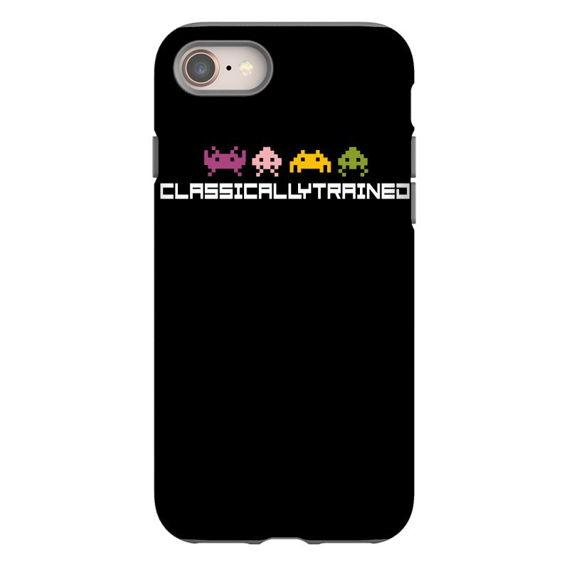 Classically Trained   80s Video Games Iphone 8 Case | Artistshot
