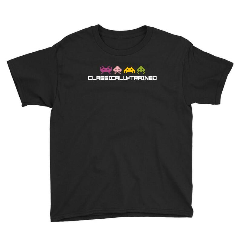 Classically Trained   80s Video Games Youth Tee | Artistshot