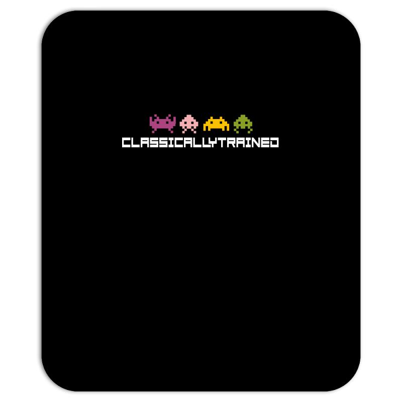 Classically Trained   80s Video Games Mousepad | Artistshot