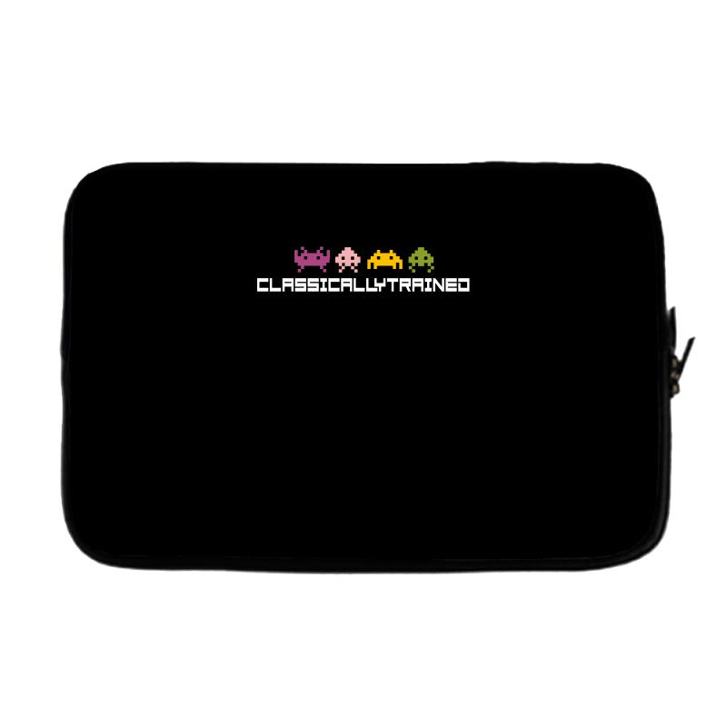 Classically Trained   80s Video Games Laptop Sleeve | Artistshot