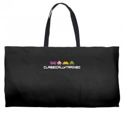 classically trained   80s video games Weekender Totes | Artistshot