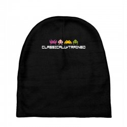 classically trained   80s video games Baby Beanies | Artistshot