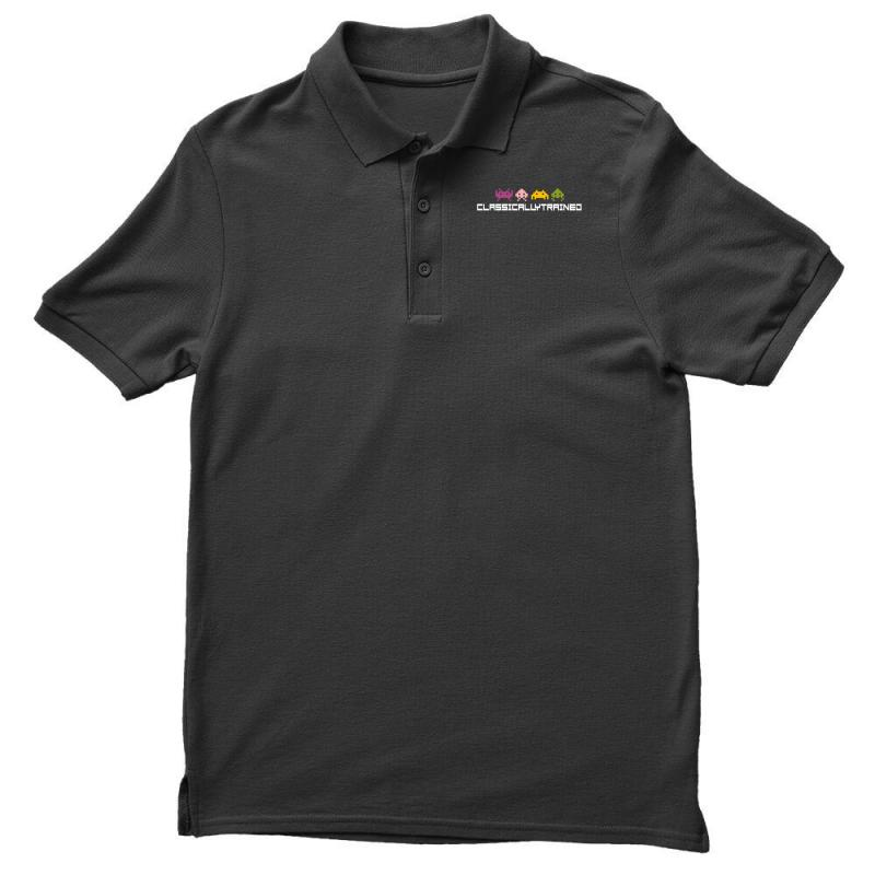Classically Trained   80s Video Games Polo Shirt | Artistshot