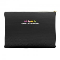 classically trained   80s video games Accessory Pouches | Artistshot