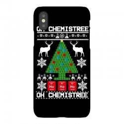 chemist element oh chemistree christmas sweater iPhoneX Case | Artistshot