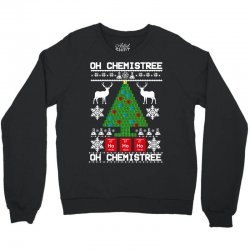 chemist element oh chemistree christmas sweater Crewneck Sweatshirt | Artistshot