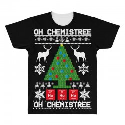 chemist element oh chemistree christmas sweater All Over Men's T-shirt | Artistshot