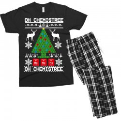 chemist element oh chemistree christmas sweater Men's T-shirt Pajama Set | Artistshot