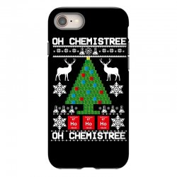 chemist element oh chemistree christmas sweater iPhone 8 Case | Artistshot