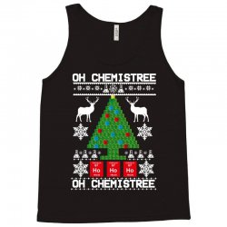 chemist element oh chemistree christmas sweater Tank Top | Artistshot